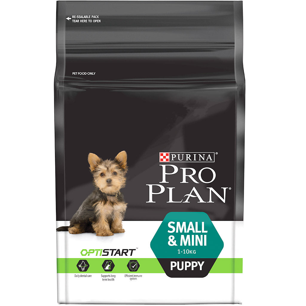 25% OFF: Pro Plan® OptiStart Small & Mini Puppy Dry Dog Food 2.5kg