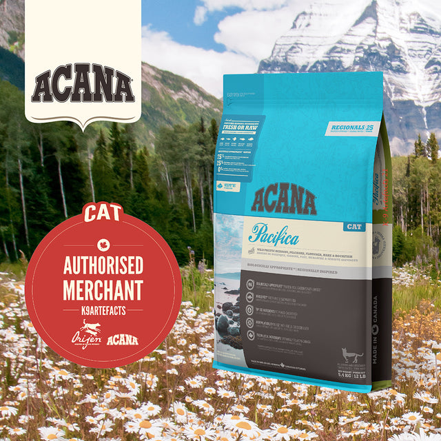 30% OFF + FREE GIFT [11.11]: ACANA® Regionals Pacifica Dry Cat Food (2 sizes)