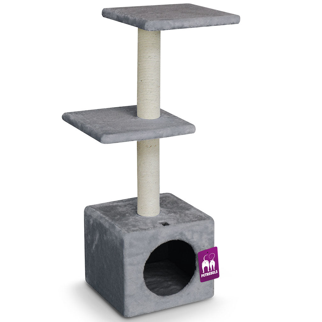 15% OFF [NEW]: Petrebels® Boston 90 Cat Tree - Grey
