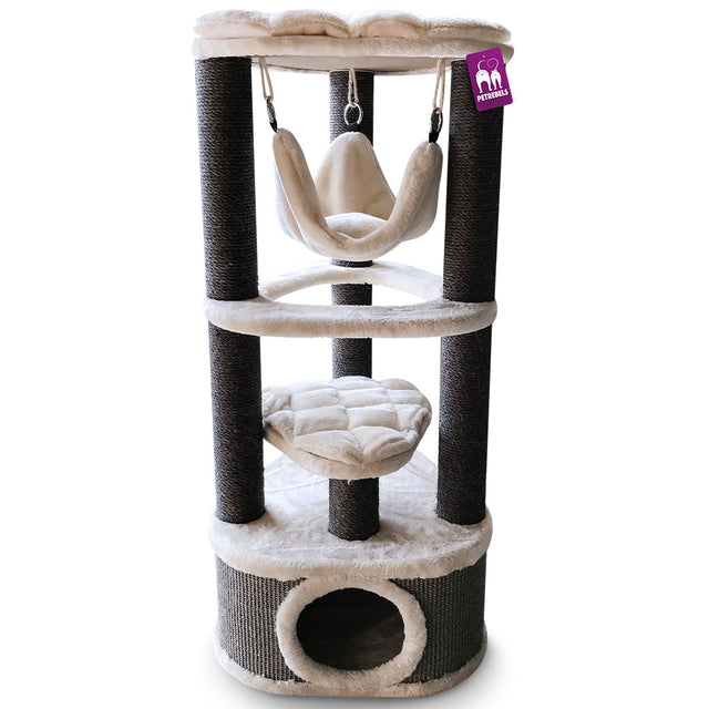 20% OFF [NEW] Petrebels® Catharina 120 Cat Tree - Royal Cream