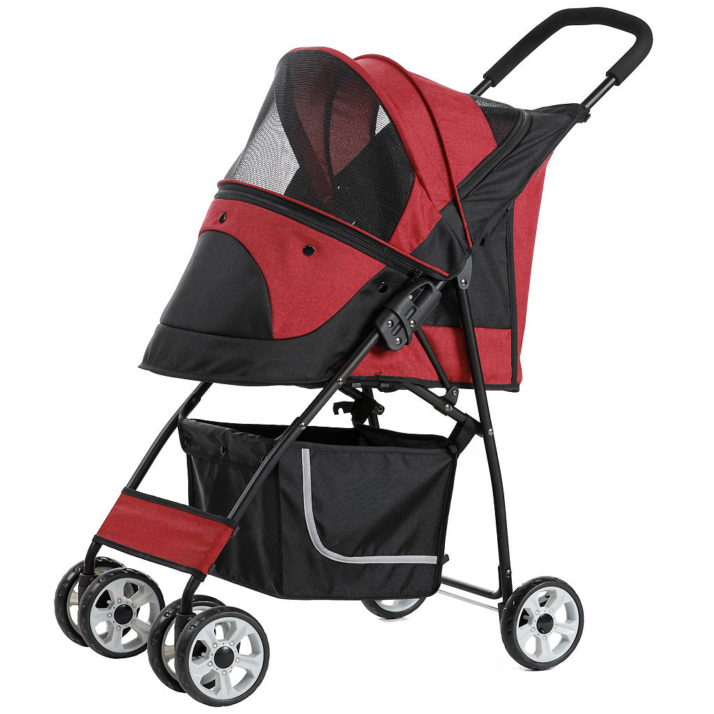 25% OFF: Petty Man® 869 Tiny King/Queen Pet Stroller - 3 Colours