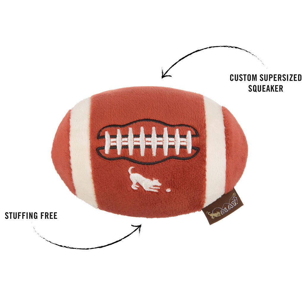 10% OFF [NEW]: P.L.A.Y® Back To School Fido's Football Plush Dog Toy