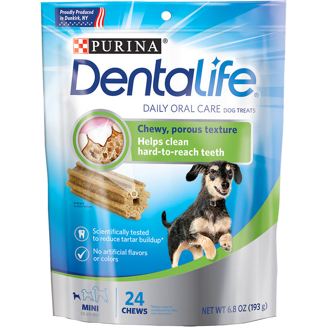 $5.50 ONLY: Purina® DentaLife Daily Oral Care Mini Dental Dog Treats (7pcs)