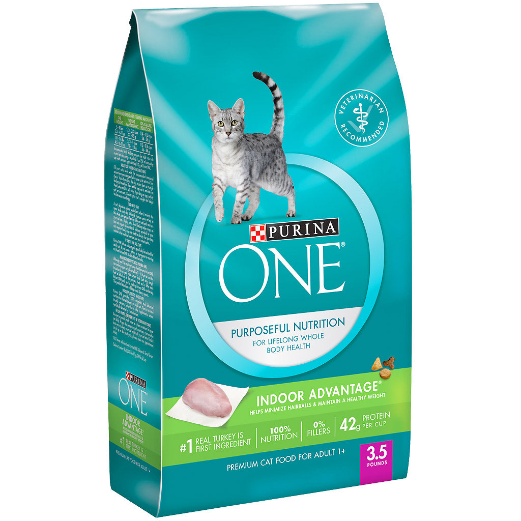 15% OFF: Purina® ONE Indoor Advantage Adult Premium Dry Cat Food 1.6kg