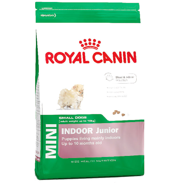 20% OFF: Royal Canin® Canine Mini Indoor Junior Dry Dog Food (1.5kg)