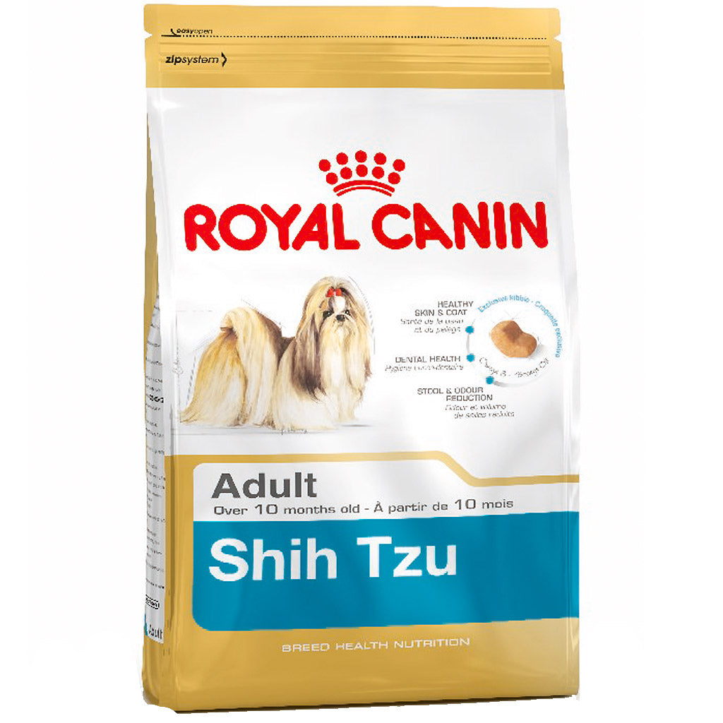 25% OFF + FREE BIN: Royal Canin® Breed Health Nutrition Shih Tzu Adult Dry Dog Food (1.5kg)