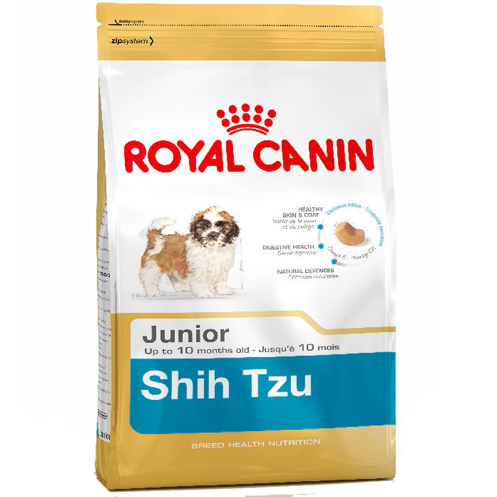 15% OFF: Royal Canin® Breed Health Nutrition Shih Tzu Junior Dry Dog Food 1.5kg