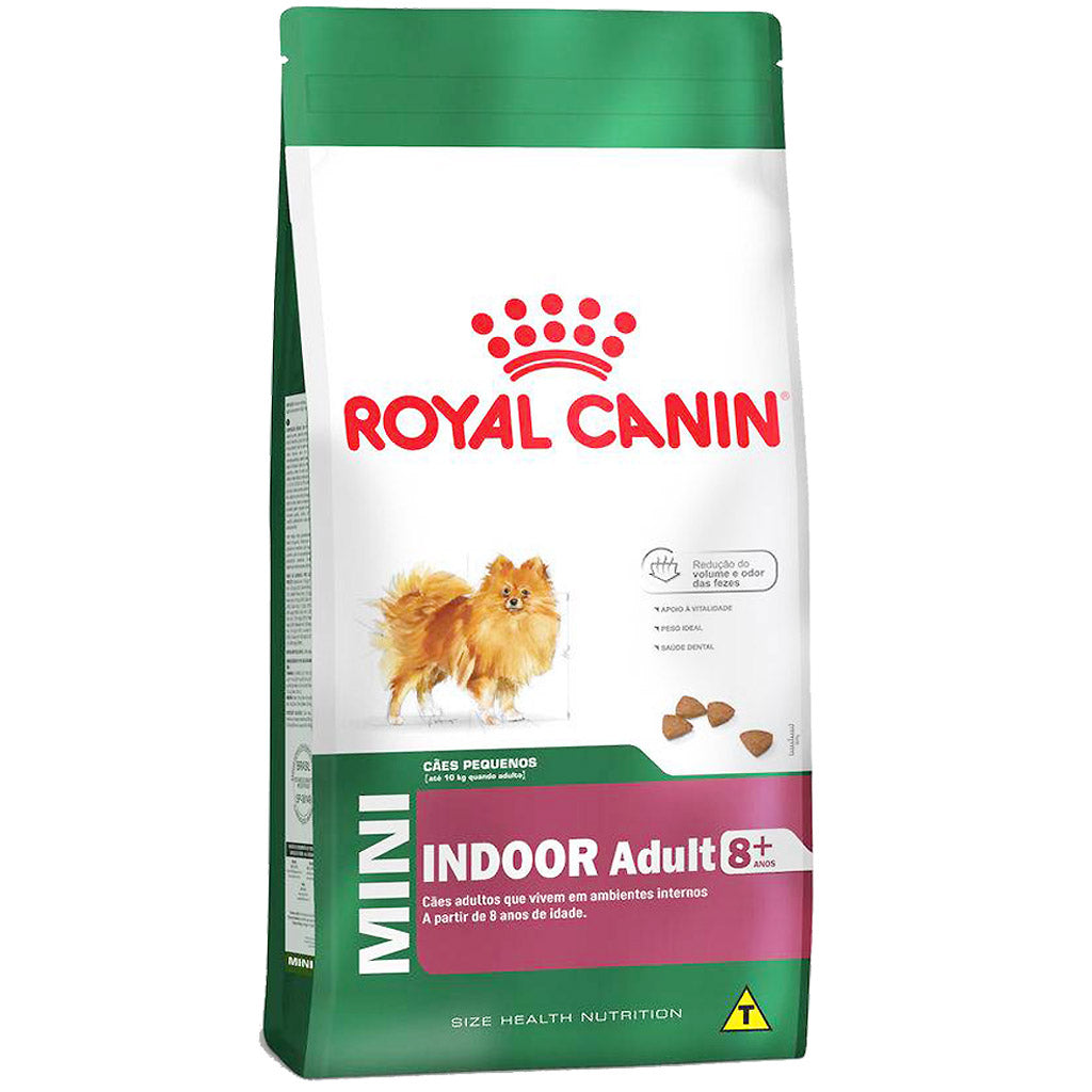 20% OFF: Royal Canin® Canine Mini Indoor Mature 8+ Dry Dog Food (1.5kg)