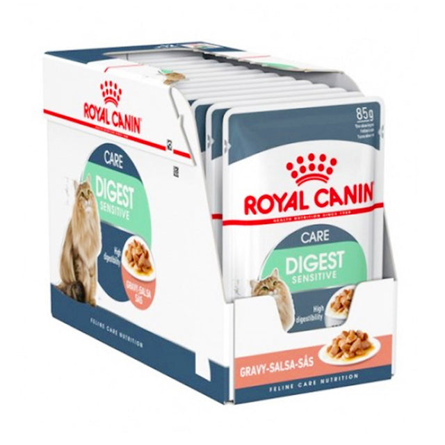 20% OFF: Royal Canin® Feline Digestive Sensitive Wet Pouches Cat Food (12pcs)