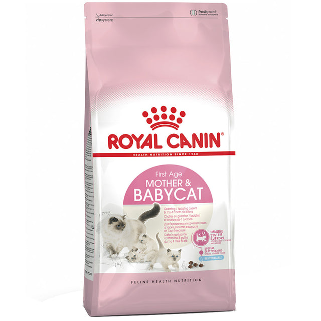 25% OFF + FREE TREATS: Royal Canin® Feline Mother & Babycat Dry Cat Food (2 sizes)