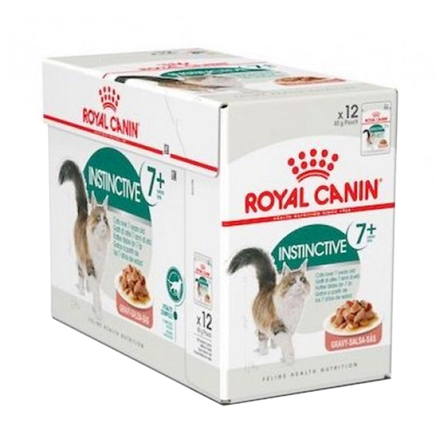 20% OFF: Royal Canin® Feline Instinctive 7+ Wet Pouches Cat Food (12pcs)
