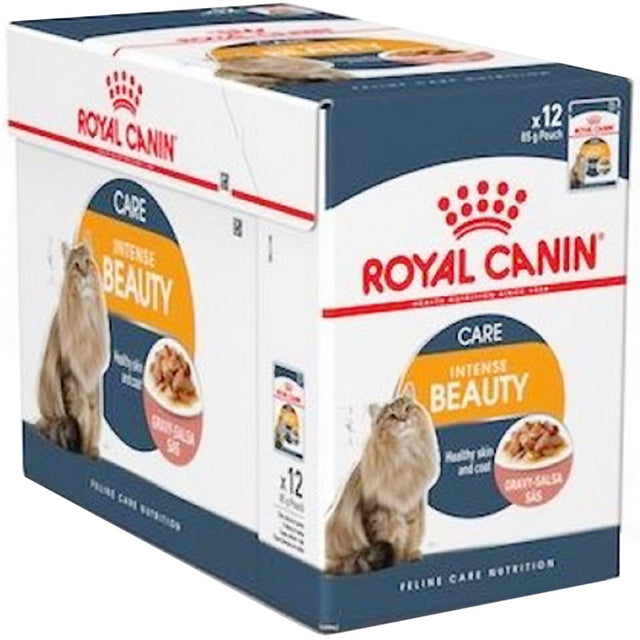 20% OFF: Royal Canin® Feline Intense Beauty Wet Pouches Cat Food (12pcs)
