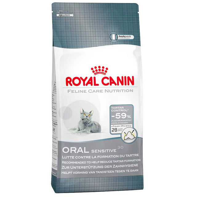 25% OFF: Royal Canin® Feline Oral Care Dry Cat Food (2 sizes)