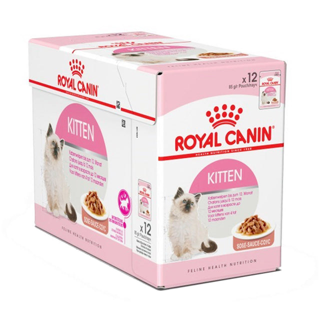 20% OFF: Royal Canin® Feline Instinctive Kitten Gravy Wet Pouches Cat Food (12pcs)