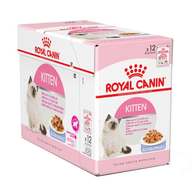 30% OFF [EXPO] Royal Canin® Feline Instinctive Kitten Jelly Wet Pouches Cat Food (12pcs)