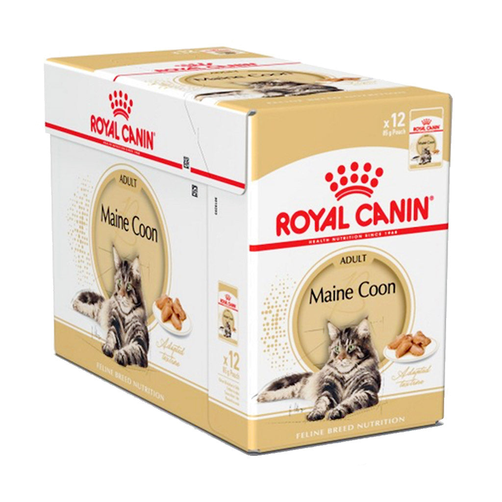 20% OFF: Royal Canin® Feline Maine Coon Pouches Wet Cat Food 85g (12pcs)