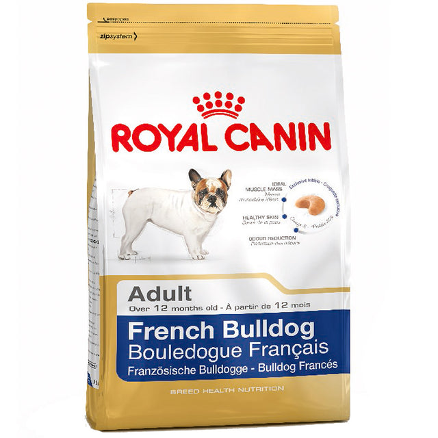 30% OFF [PROMO] Royal Canin® Breed Health Nutrition French Bulldog Adult Dry Dog Food 3kg