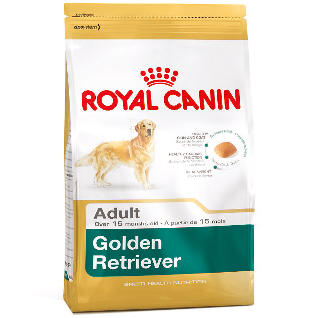 25% OFF + FREE TREATS: Royal Canin® Golden Retriever Adult Dry Dog Food (12kg)