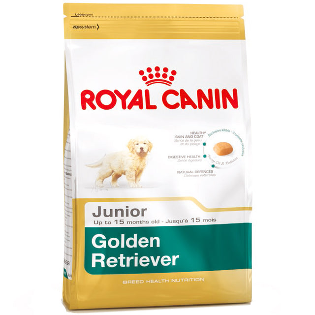 30% OFF [PROMO] Royal Canin® Breed Health Nutrition Golden Retriever Junior Dry Dog Food 3kg