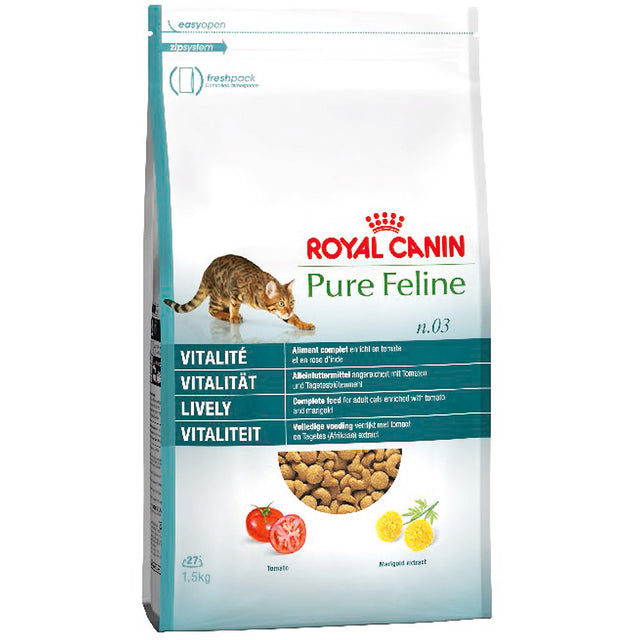 20% OFF: Royal Canin® Pure Feline Vitality No. 3 Dry Cat Food (1.5kg)