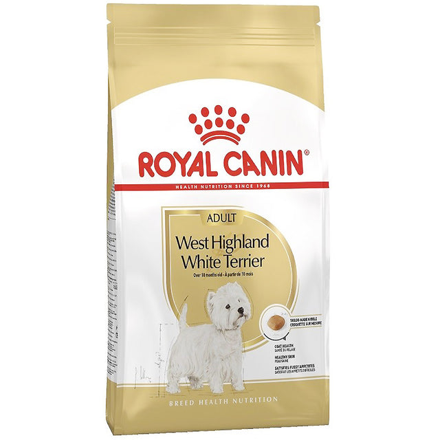 30% OFF [PROMO] Royal Canin® Breed Health Nutrition West Highland White Terrier Dry Dog Food 3kg
