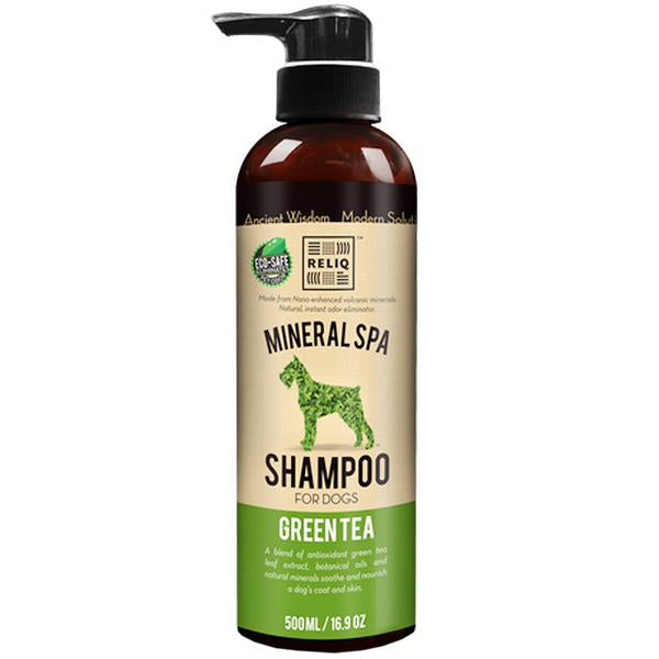 20% OFF: Reliq® Mineral Spa Green Tea Shampoo for Dogs (2 sizes)