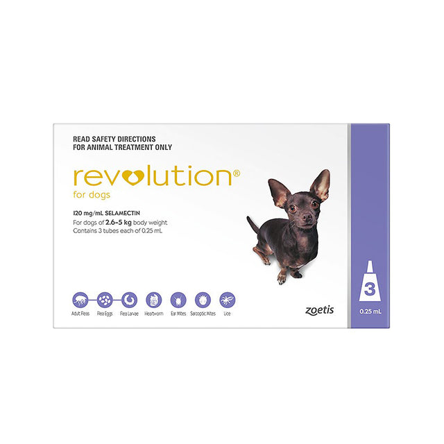 35% OFF: Revolution® Tick & Flea For Extra Small Dogs (2.5–5kg)