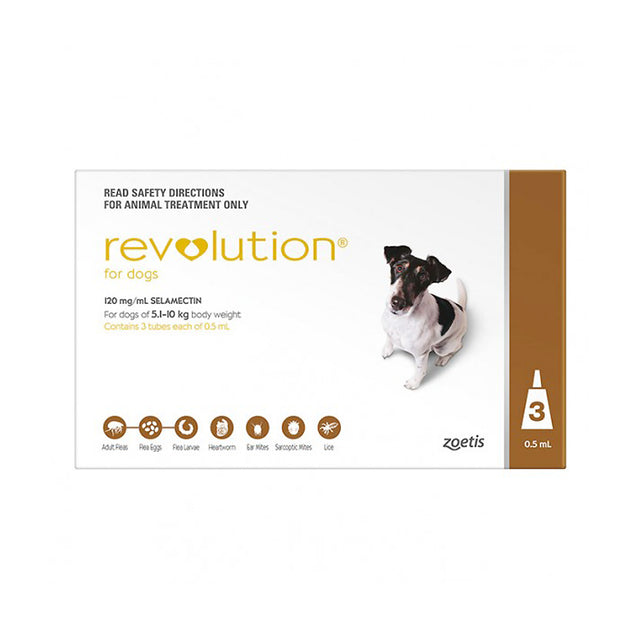 35% OFF: Revolution® Flea & Tick For Small Dogs (5.1–10kg)