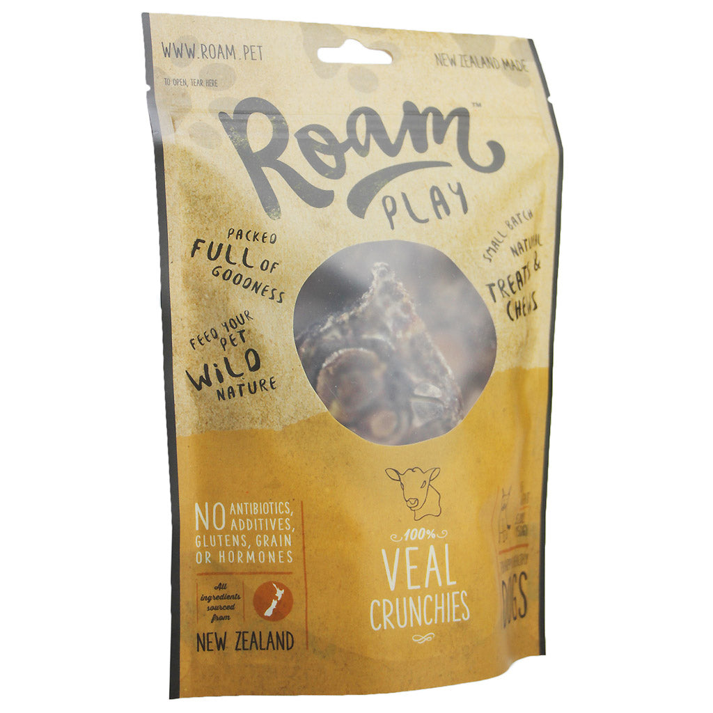 BUY 2 FREE 1 [XMAS18]: Roam® Play Free-Range Dog Treats 125g (3 Flavours)