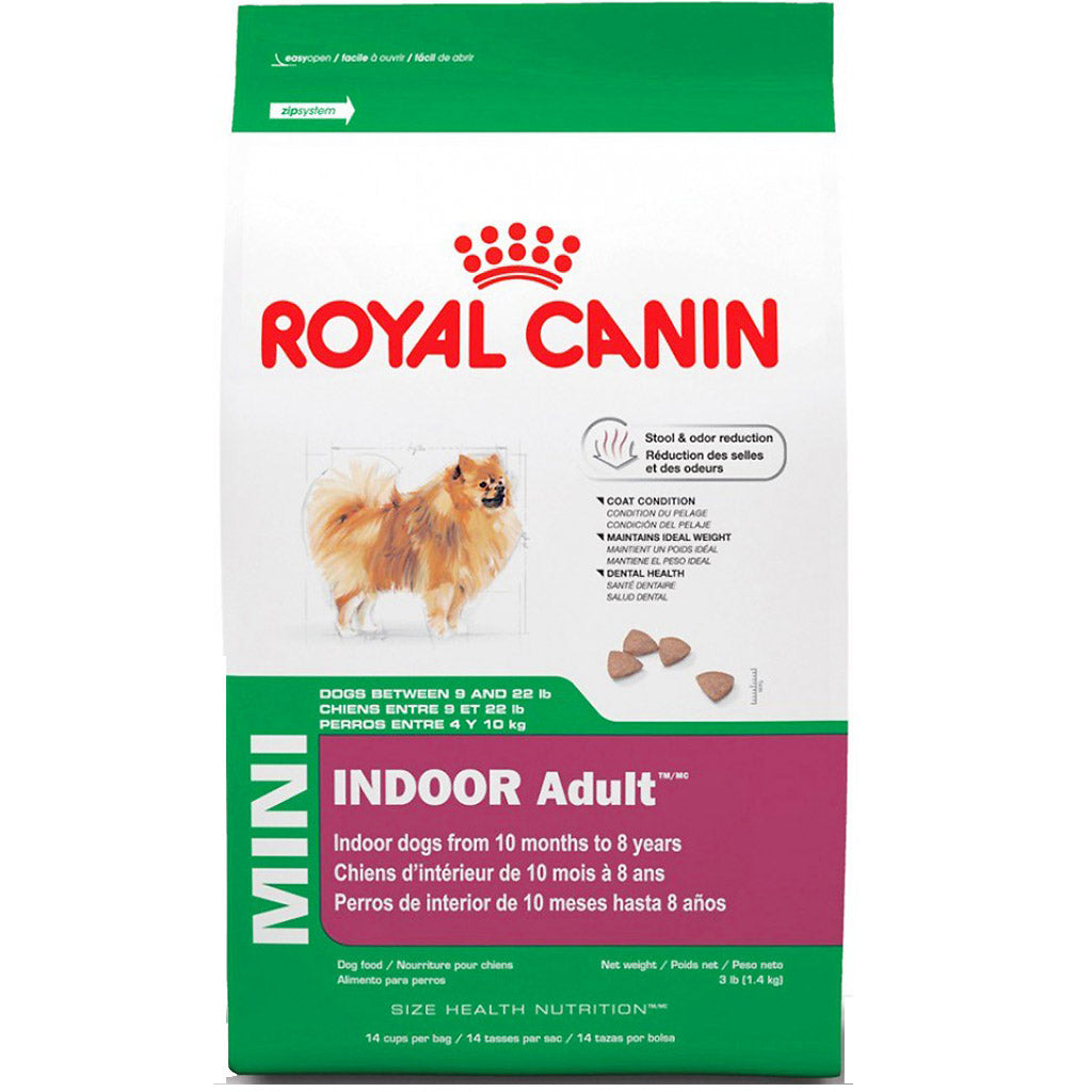 20% OFF: Royal Canin® Canine Mini Indoor Adult Dry Dog Food (3 sizes)