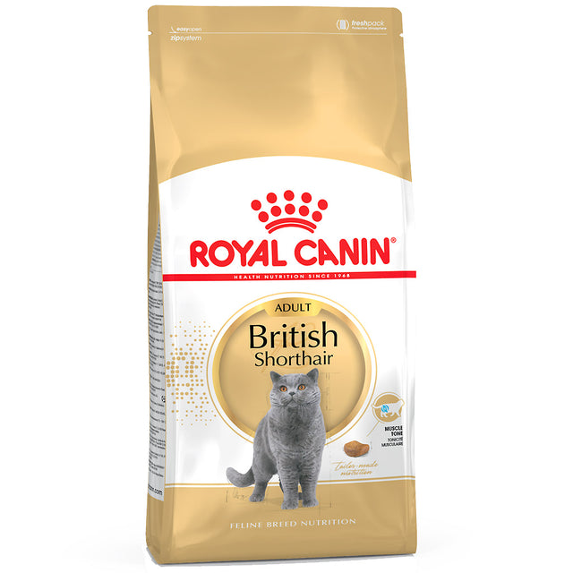 20% OFF: Royal Canin® Feline Breed Nutrition British Shorthair 34 Dry Cat Food (4kg)