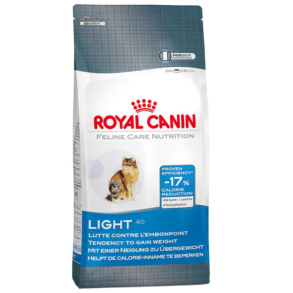 25% OFF + FREE BIN: Royal Canin® Feline Care Nutrition Light Weight 40 Dry Cat Food (2 sizes)