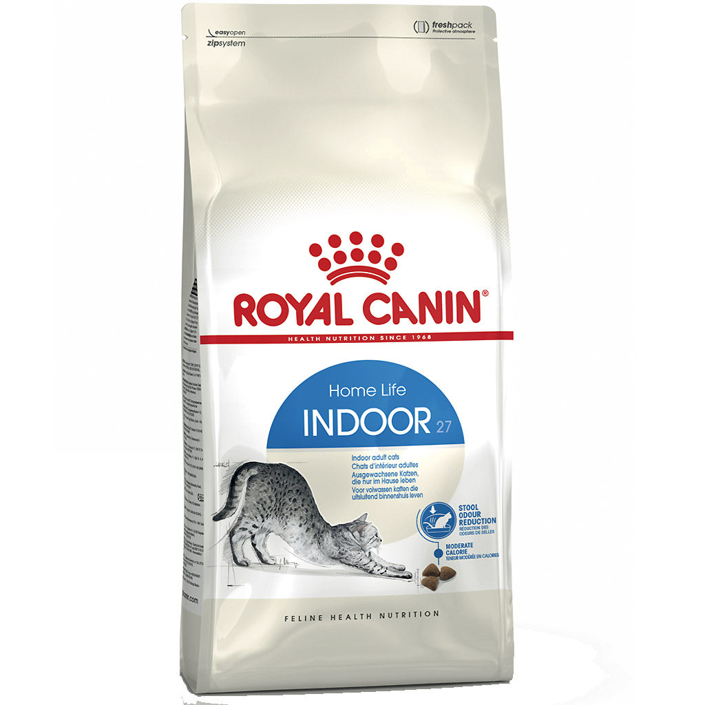 25% OFF + FREE BIN: Royal Canin® Feline Health Nutrition Indoor 27 Dry Cat Food (4 sizes)