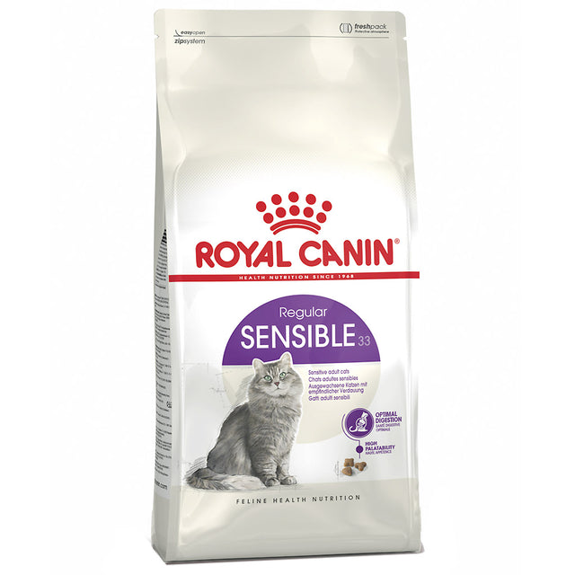 25% OFF: Royal Canin® Feline Sensible 33 Dry Cat Food (2 sizes)