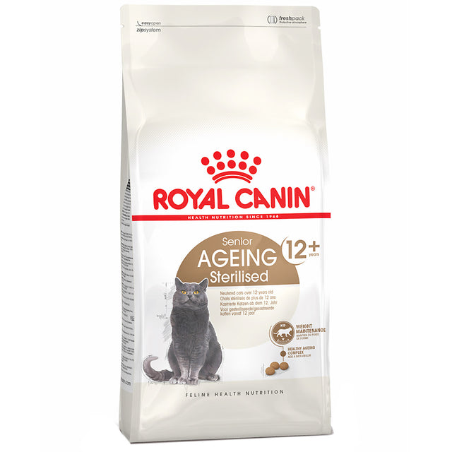 25% OFF: Royal Canin® Ageing 12+ Sterilised Dry Cat Food (2kg)