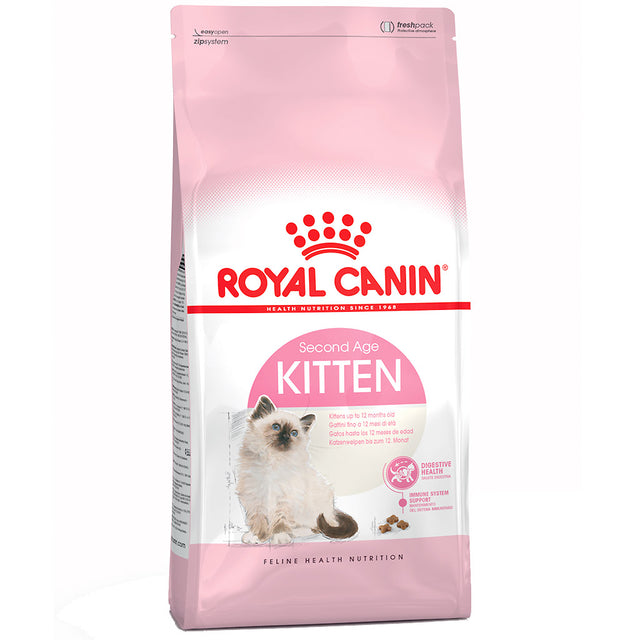 25% OFF + FREE TREATS: Royal Canin® Kitten Dry Cat Food (4 sizes)