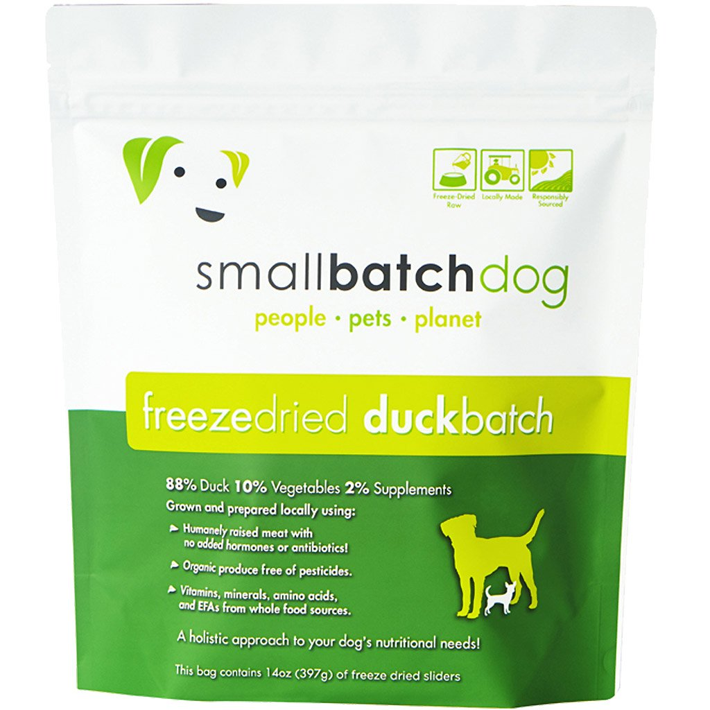 35% OFF [EXCLUSIVE]: Smallbatch® Freeze-Dried Duck Sliders Dry Dog Food (397g/14oz)