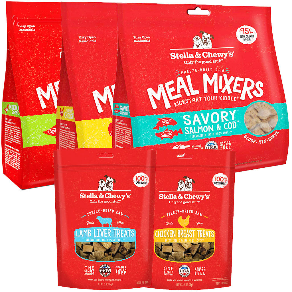 20% OFF: Stella & Chewy's® Turkey Meal Mixers Freeze-Dried Dog Food (3 sizes)