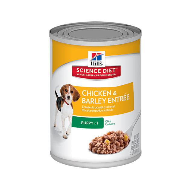 25% OFF: Hill's® Science Diet Puppy Gourmet Chicken Entrée Canned Dog Food (369g)