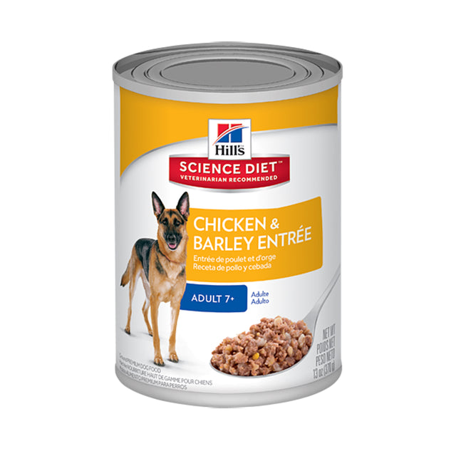 25% OFF: Hill's® Science Diet Mature Adult Gourmet Chicken Entrée Canned Dog Food (369g)