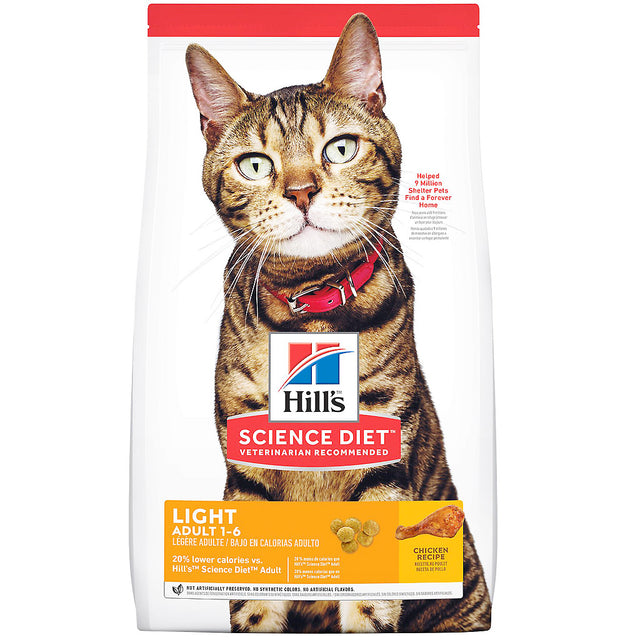 25% OFF: Hill's® Science Diet Light Dry Cat Food (2 sizes)