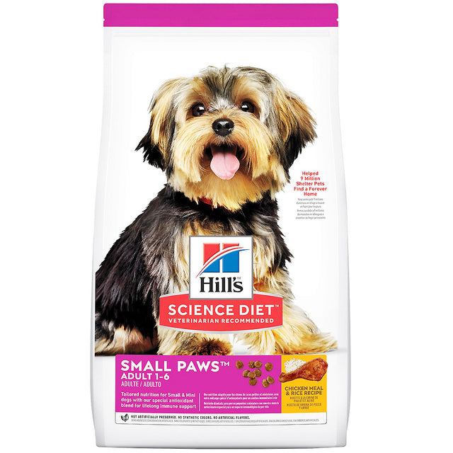 30% OFF + FREE CUSHION [EXPO20]: Hill's® Science Diet Small & Toy Breed Dry Dog Food (2 sizes)