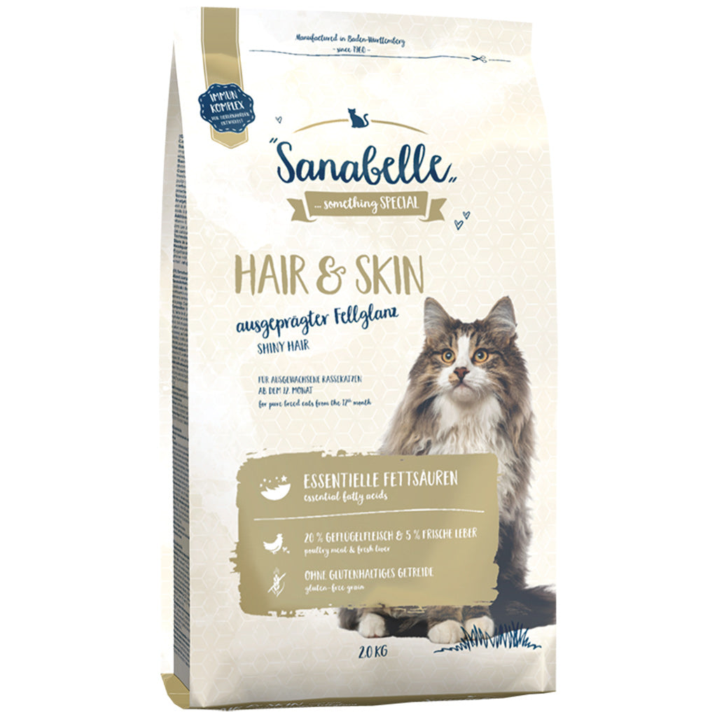 20% OFF: Sanabelle® Hair & Skin Formula Dry Cat Food (2 sizes)