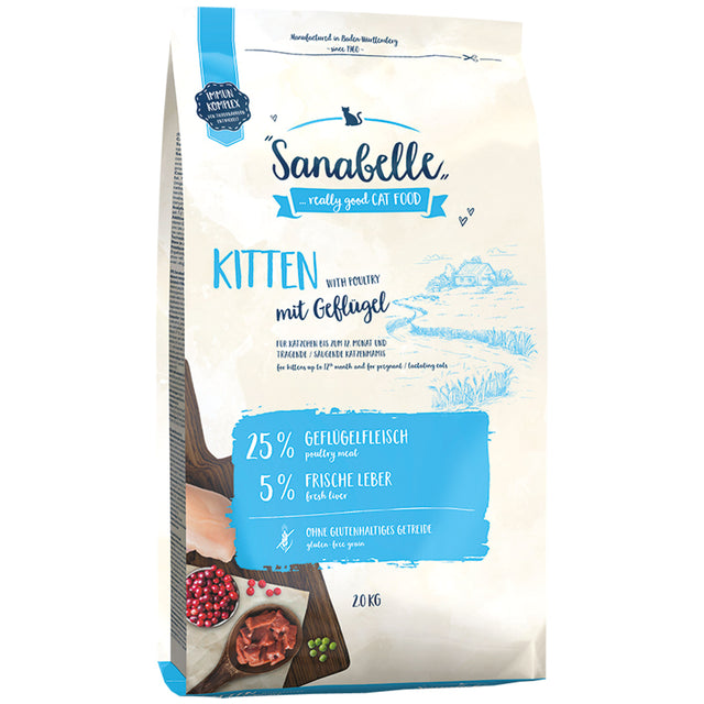 35% OFF: Sanabelle® Kitten Formula Dry Cat Food (2 sizes)