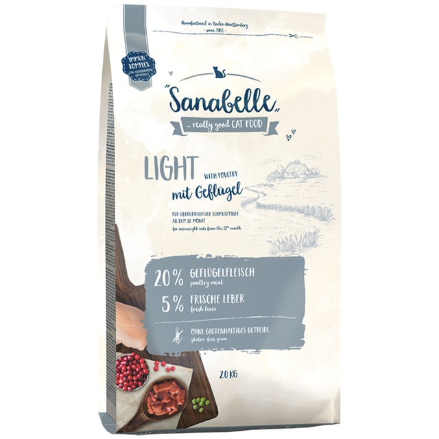 30% OFF: Sanabelle® Light Formula Dry Cat Food (2 sizes)