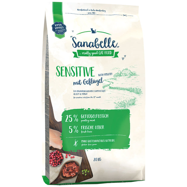 20% OFF: Sanabelle® Sensitive Poultry Formula Dry Cat Food (2 sizes)