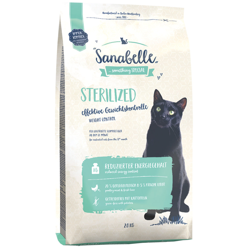 [20% OFF] Sanabelle® Sterilized+ Formula Dry Cat Food (2 sizes)