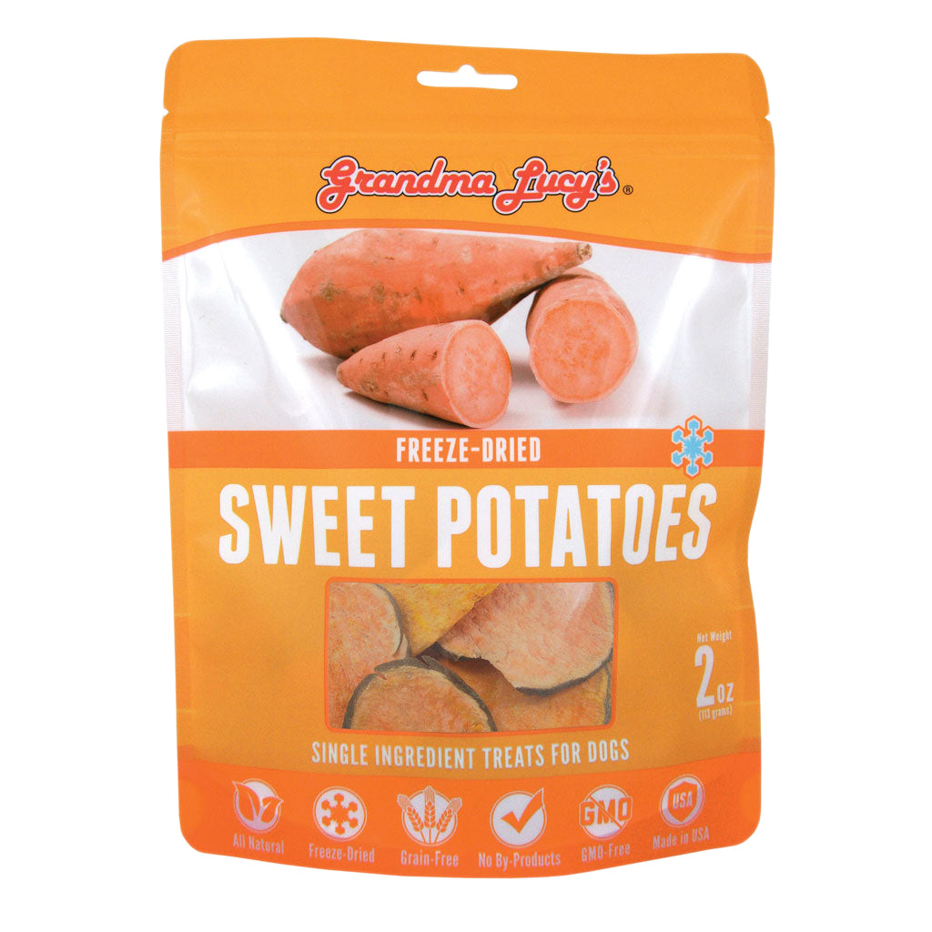 2 FOR $30 [SAVER]: Grandma Lucy's® Freeze-Dried Single Ingredient Sweet Potatoes Dog Treats (57g)