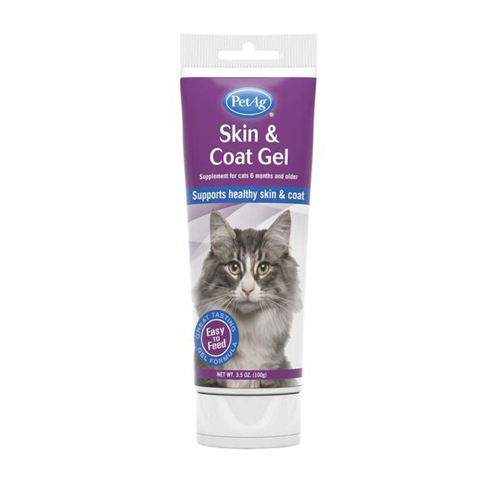 PetAg® Skin & Coat Gel Supplement for Cats (99g)
