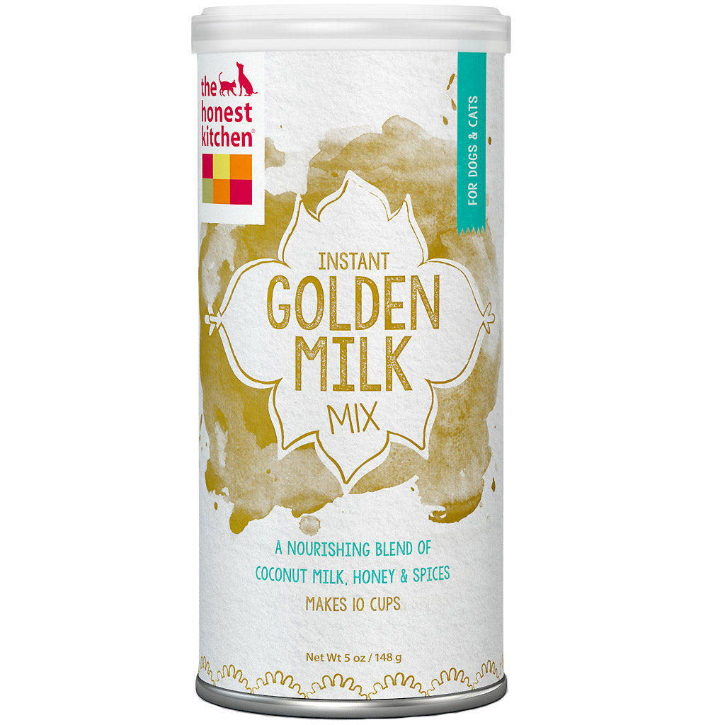 15% OFF [NEW]: The Honest Kitchen® Instant Golden Milk Organic Coconut Milk With Honey & Spices Dog & Cat Supplement (148g)